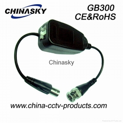 HD-CVI/TVI/AHD Video Ground Loop Isolator for Coaxial Cable&UTP (GB300)