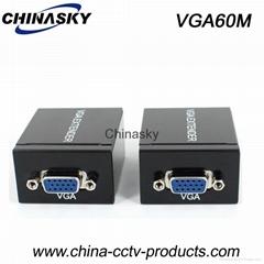 VGA To RJ45 Signal Extender CAT-5e/6 Cable 60M Converter (VGA60M)