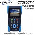"3.5"" TFT-LCD CCTV Tester, portable (CT2800TVI)"