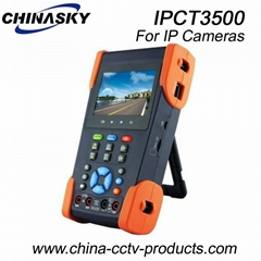 "3.5"" Universal Touch Screen IP Camera Test Monitor(IPCT3500)"