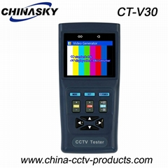 "2.8"" LCD Display , CCTV PTZ Camera Security Tester(CT-V30)"