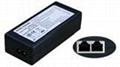 24V 1A 100Mbps PSE Power/POE Injector