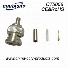 BNC Male Crimp on Connector for RG174 cable(CT5056)