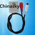 CCTV Surveillance Microphone for Security System Small High Sensitivity(CM502D)