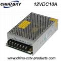 12VDC 10Amp CCTV Switching Power Supply (12VDC10A)
