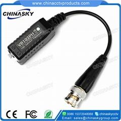 Screwless HD-CVI/TVI/AHD Passive CCTV Video Balun with Pigtail (VB102PH) (Hot Product - 1*)