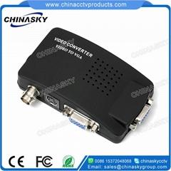 BNC S-Video to VGA Video Converter for CCTV Camera Accessories (BTV100)
