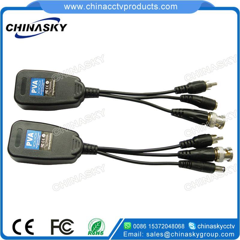 1ch Passive HD-CVI/TVI/AHD Video Balun with Power/Audio PVA22H