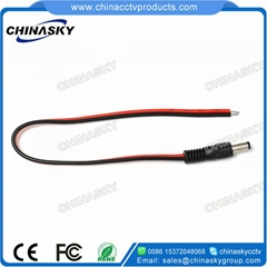 DC Power Connector/ Cord/Pigtail Male Plug / CCTV power cord CT5088
