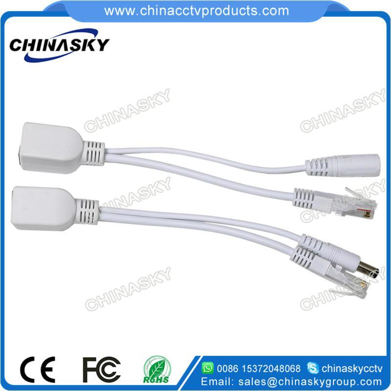 Passive PoE Cable, PoE Splitter x1, PoE Injector x1, 30M pair