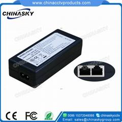 52V 0.5A 100Mbps PSE Power/POE Injector