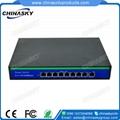 10/100Mbps 8 RJ45 ports 1 Uplink  network poe switch(POE0810BU)