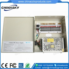 CCTV camera power supply box 12V5A9P(12VDC5A9P)