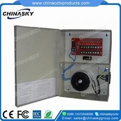 CCTV Camera Power Supply Box 26V  3A 8Channel(26VAC3A8P)