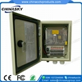 Waterproof (IP66) CCTV Power Center Box (12VDC10A9PW)
