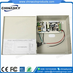 CCTV Camera Power Supply distributor with Battery Backup /UPS (12VDC3.5A4P/B)