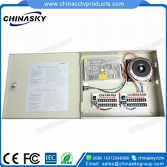CCTV Camera Power Supply (12VDC13A9P&24VAC10A9P)