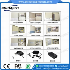 Premium CCTV Camera Power Supply Unit12V 5A 9 Channel(12V5A9PN)