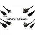 Optional AC Plugs