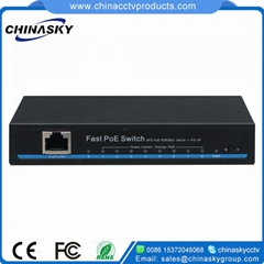 8 Port 10/100Mbps PoE Network Switch with 1RJ45 Uplink(POE0810SH)