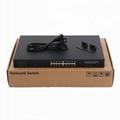 16 Gigabit Active POE + 2 SFP CCTV Ethernet POE Switch POE1602SFP-3