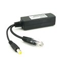 802.3af/at Pd Splitter, PoE Splitter DC12V, 10/100Mbps (Isolated)