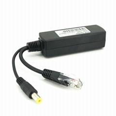 802.3af/at Pd Splitter, PoE Splitter DC12V, 10/100Mbps (Isolated)