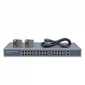 26 Ports 10/100Mbps Network PoE Switch with 2 1000Mbps RJ45 Uplinks (POE2420-2)