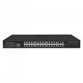24 Port 1000Mbps Managed PoE Network Switch with Gigabit Uplink and SFP port