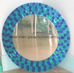 馬賽克裝飾牆鏡