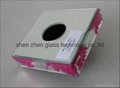 玻璃珠寶盒