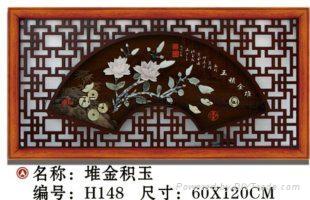 玉石画90X90 2