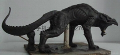 動物雕塑泥模手板