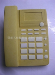 Telephone plaster model sculpture