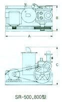 神港精機1段形真空泵 2