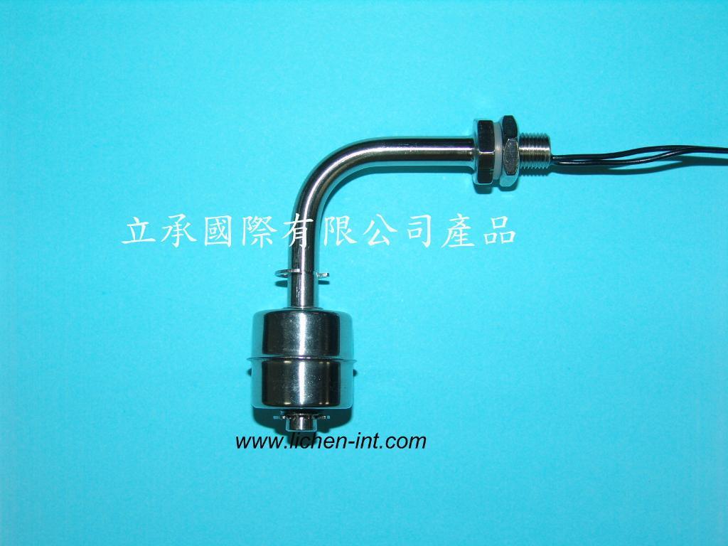 FT-ST-02 弯管不锈钢浮球 1