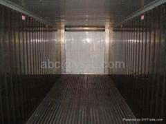 提供冷藏运输用冷藏集装箱及冷藏车厢