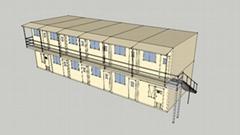 組合式集裝箱雙層辦公樓 A06