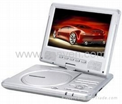 "New 9""Portable DVD with DVB-T"