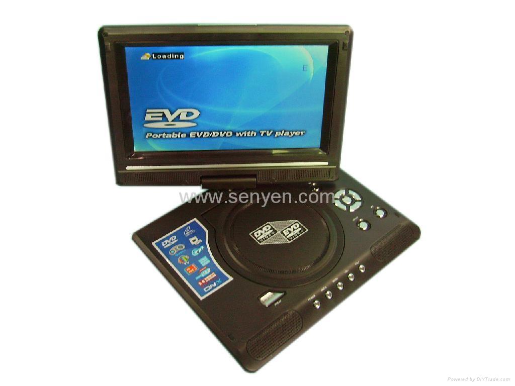 LMD998 9.8寸便攜式DVD播放器 2