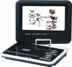 供应9599 A 9.8寸 便携式EVD DVD 高清播放器