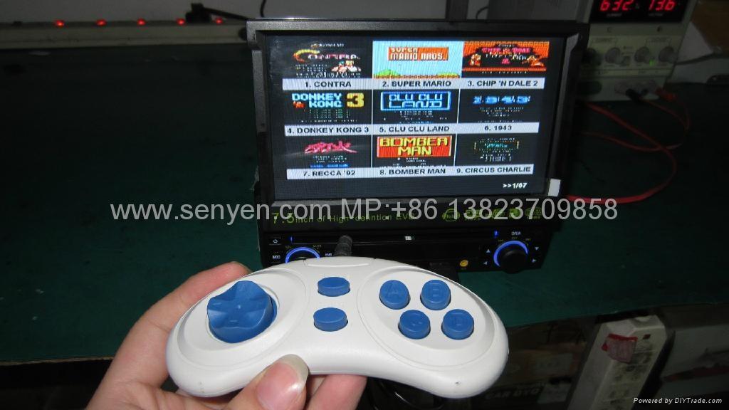 7.5寸 單綻紳縮車載DVD/遊戲機/USB/SD高清播放器 2