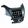 现代伊兰特 专车专用 8寸车载电脑智能Android2.3系统,WIFI,车载GPS,DVD 2