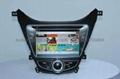 现代伊兰特 专车专用 8寸车载电脑智能Android2.3系统,WIFI,车载GPS,DVD 4