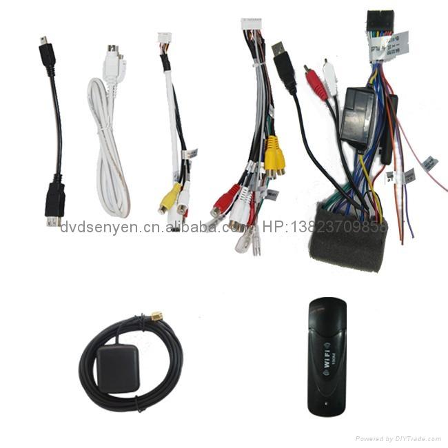 现代伊兰特 专车专用 8寸车载电脑智能Android2.3系统,WIFI,车载GPS,DVD 5