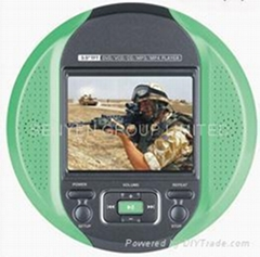 Portabl DVD/MP4 with 3.5'' TFT player