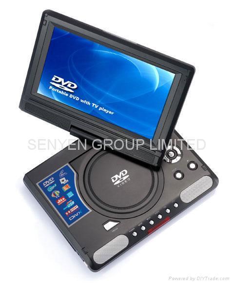 LMD998 9.8寸便攜式DVD播放器 1
