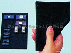 Electric conduction sponge
