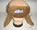 Winter Taslon with Faux Fur Earflaps Hats