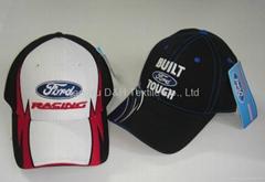 Popular Newest Team Club Balck Cotton Custom Ball Cap